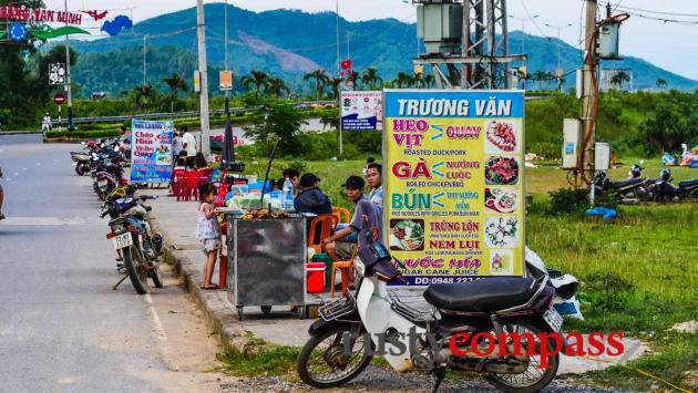 Street food, Phong Nha