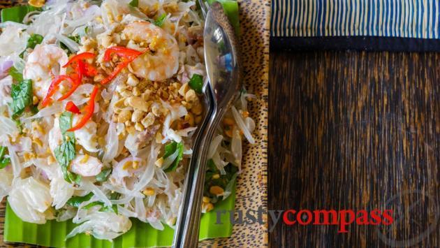Pomelo Salad, Sugar Palm Restaurant, Phnom Penh