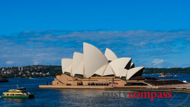 Sydney Opera House - almost 50 years and fresh as ever.
