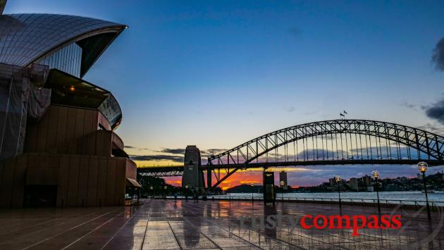 Afternoon at Sydney Opera House