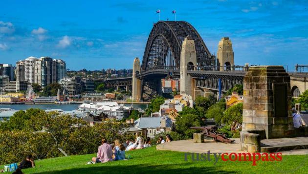 Sydney Harbour Bridge - Observatory Hill