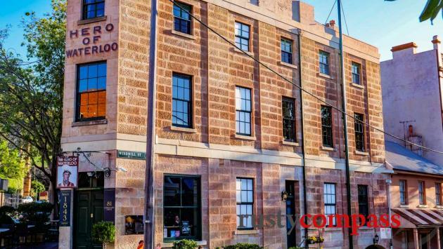 An old pub. The Rocks, Sydney