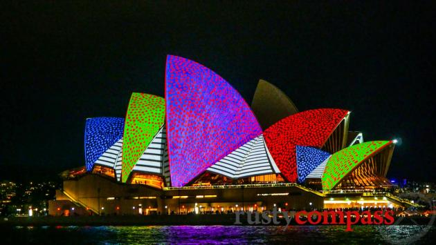 Sydney Opera House lights up for the annual Vivid Festival