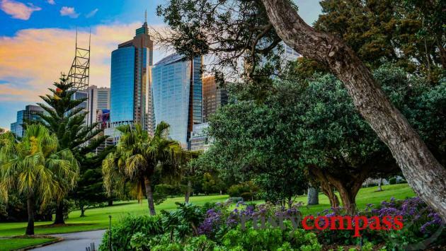 The city skyline, Sydney