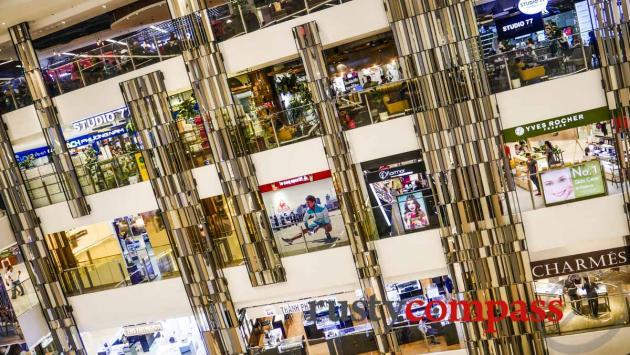 Takashimaya Department store - downtown Saigon