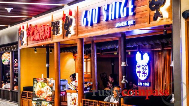 Japanese dining - Takashimaya Department store - downtown Saigon