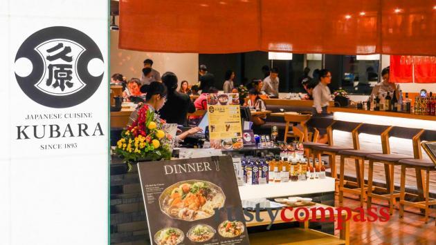 Japanese dining -Takashimaya Department store - downtown Saigon