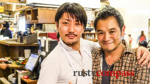 Japanese pizza gurus - Takashimaya Department store - downtown Saigon