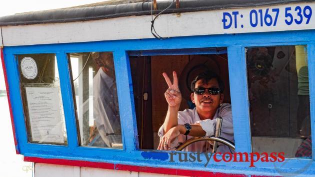 The boatman - Tam Hai Island