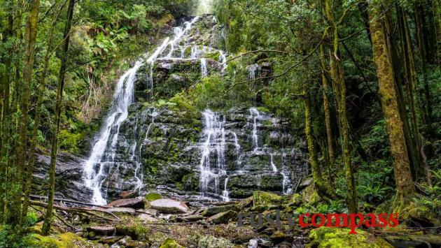 Tasmania - land of convict ruins and magnificent natural scenes.
