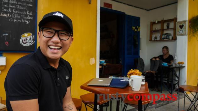 Trung, The Espresso Station, Hoi An