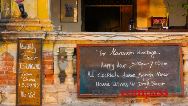 Mansion Heritage Bar, Phnom Penh