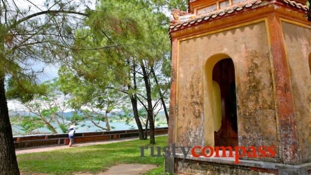 Hue's Perfume River from the Thien Mu Pagoda, Hue