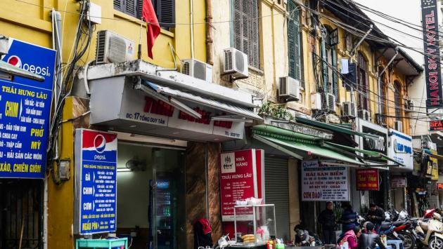 Tong Duy Tan St - Hanoi's food street
