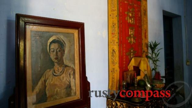 The melancholy residence where Khai Dinh's Queen saw out her final days, Hue.