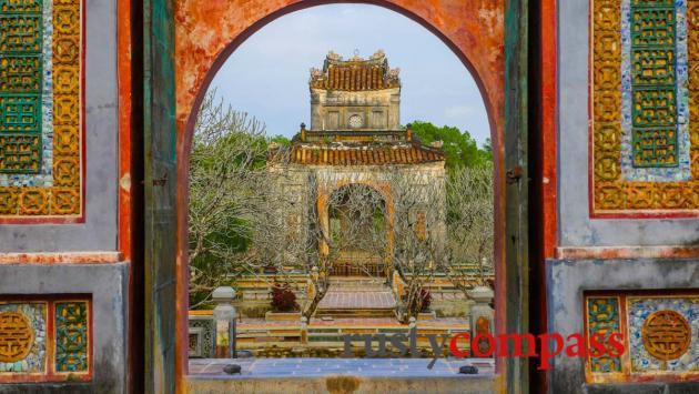 Tu Duc's Tomb, Hue