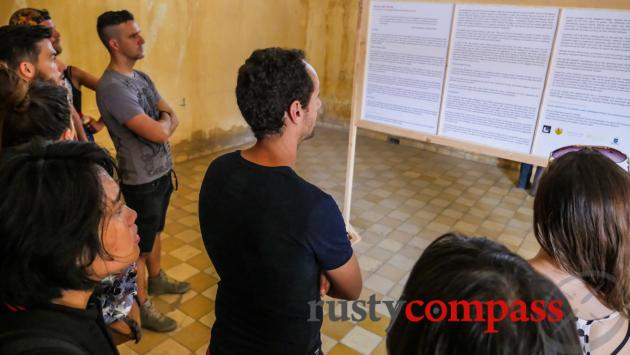 The power of words, Tuol Sleng Prison, Phnom Penh
