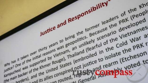 Justice and responsibility, Tuol Sleng