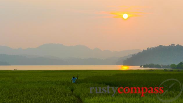 Pa Khoang Lake, Dien Bien Phu