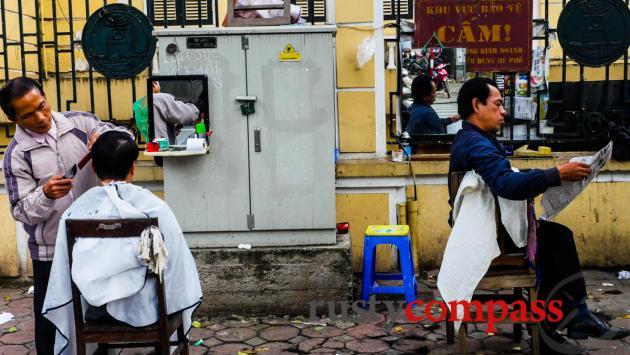 Hanoi haircut