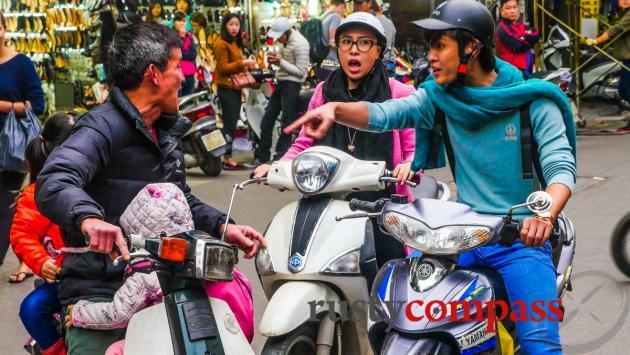 Road rage Hanoi style
