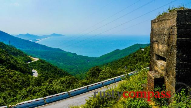 Hai Van Pass, between Hue and Danang, Vietnam