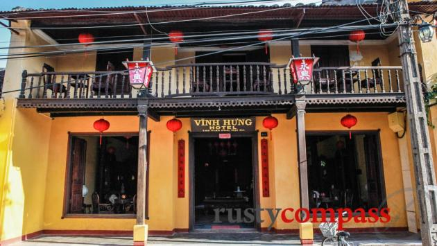 Vinh Hung Heritage Hotel - the only heritage hotel in the old town.