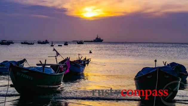 Fishing boats - Vung Tau