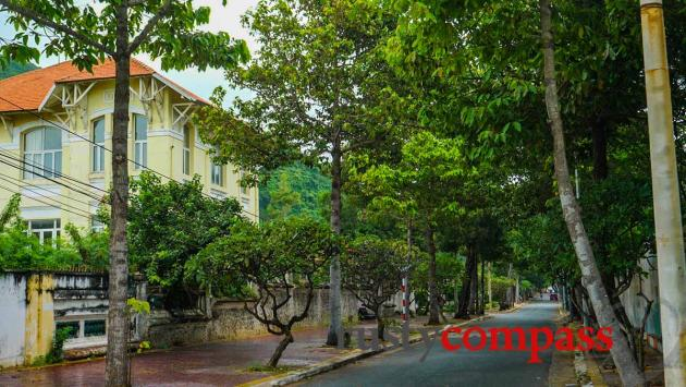 Mellow tree lined streets - Vung Tau