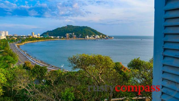 Vung Tau Front Beach from White Palace