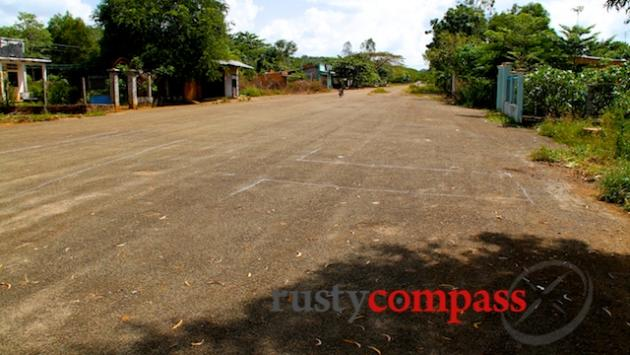 The remains of Luscombe airstrip, Nui Dat.