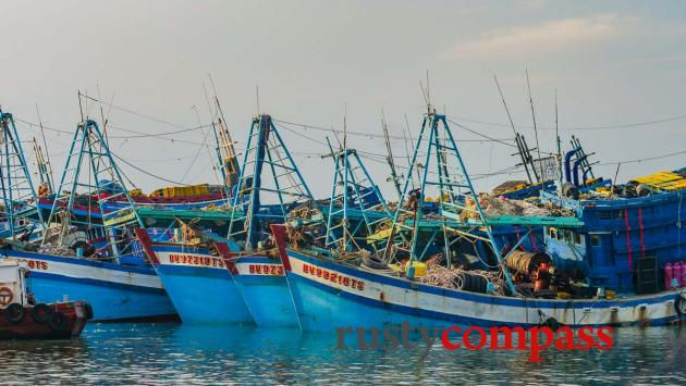 Fishing boats, Vung Tau