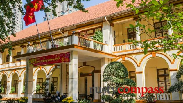 One of Saigon's oldest colonial buildings - under threat.
