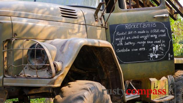 WWII era Russian truck used by Vietnamese forces - War Museum Cambodia, Siem Reap