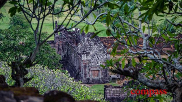 Wat Phou Khmer ruins - Champasak town, southern Laos