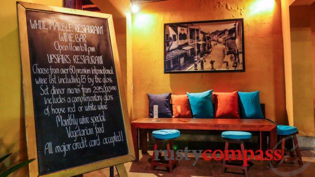 White Marble Wine Bar, Hoi An