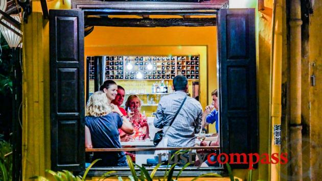 White Marble Wine Bar, and Asian Tapas, Hoi An