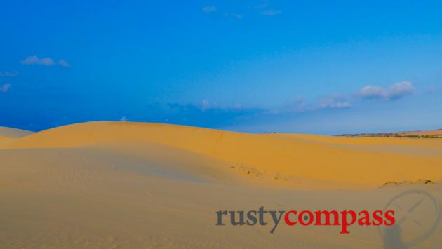 White sand dunes, 45kms north of Mui Ne