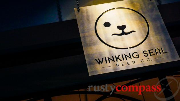 Winking Seal Craft Beer Brewery, Saigon