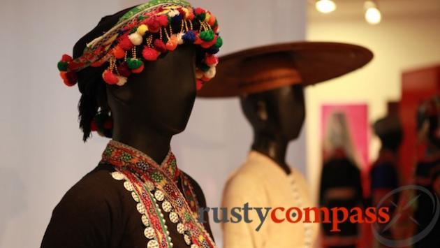 Ethnic minority costumes.