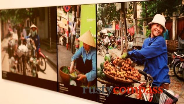 Street vendors exhibit.