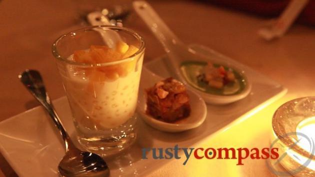 Tasty micro-desserts