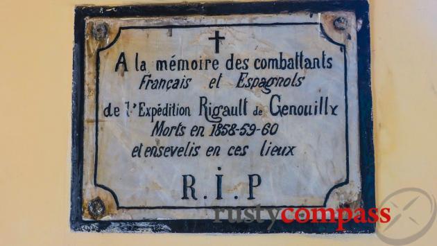 Y Pha Nho French colonial era cemetery, Son Tra, Danang