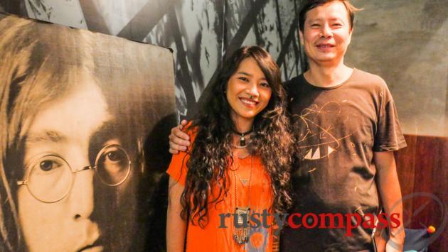 To Phuong and Hoai Anh, Yoko Saigon