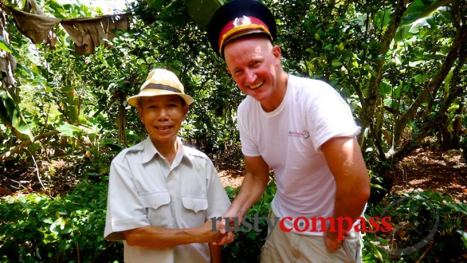 Mr Tan, a former Viet Cong soldier who now manages...