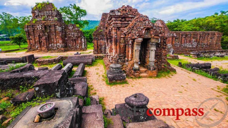 The Cham ruins at My Son - an easy journey...