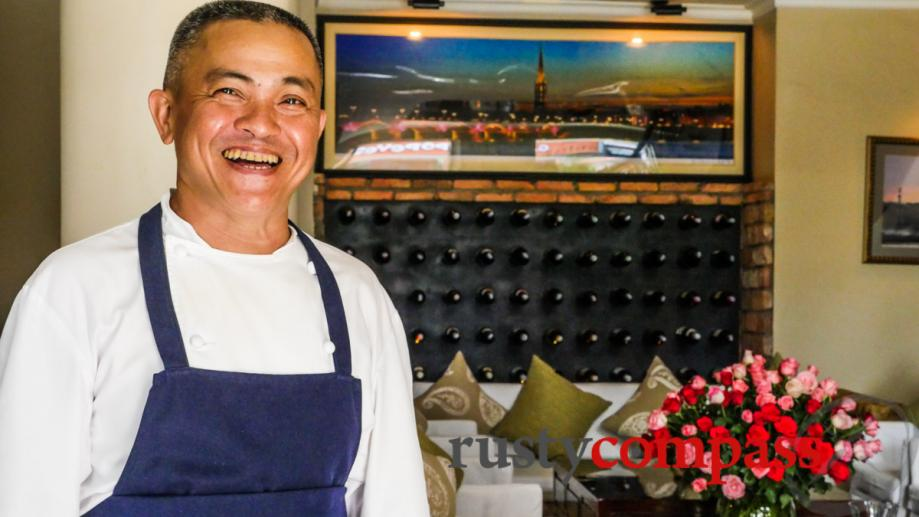 Phuc from Le Bordeaux restaurant in Saigon. He learned his...