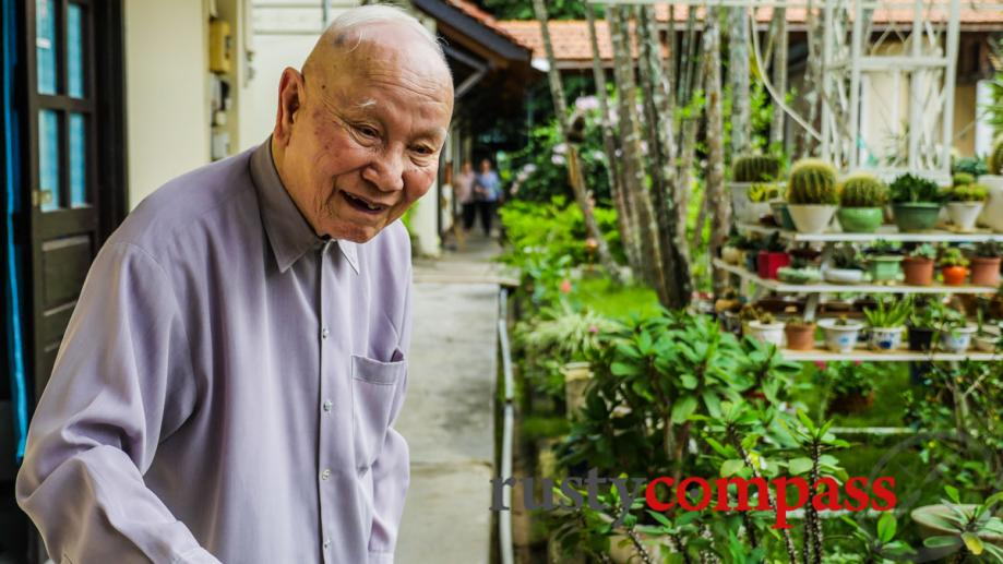 Father Nen, 94. A missionary priest at the Kontum seminary.