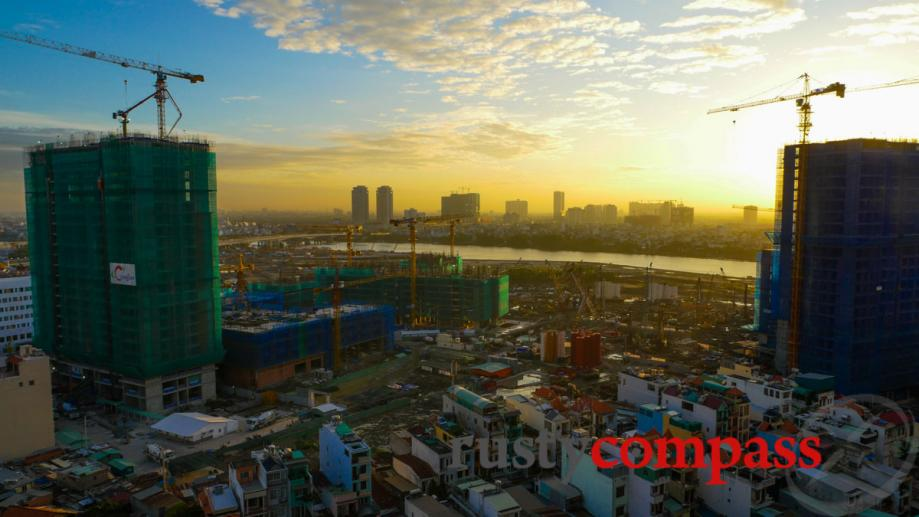 And here was Central Park in September. Saigon's biggest developers,...