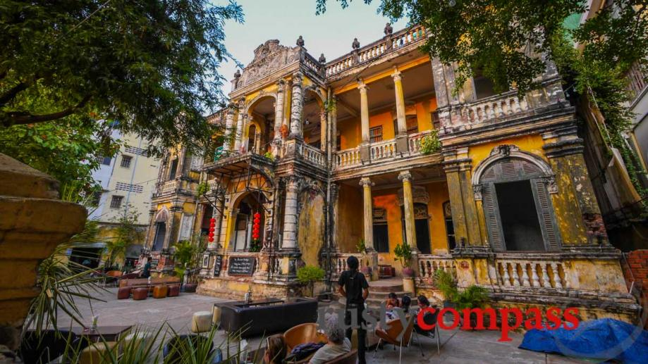 One of Phnom Penh's most spectacular, and dilapidated French colonial...